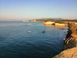 Kanal ljubavi Sidari - Corfu - Greece   Pogled sa druge strane