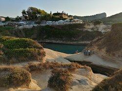 Kanal ljubavi Sidari - Corfu - Greece   Lepo veče