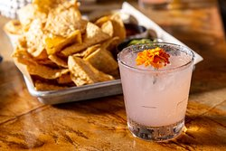 Chips, guacamole and margaritas are the perfect trio.
