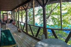 Porch on Lodge