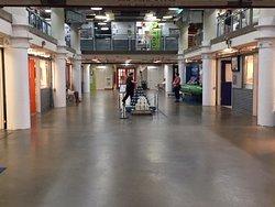 Torpedo factory art center interior