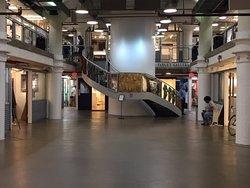 Torpedo factory art center interior view