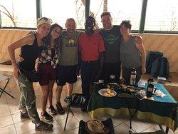 il nostro chef del campeggio nel Serengeti