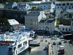 le port Le Pallais