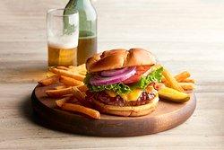 Rainforest Burger.