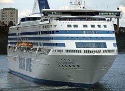Silja Symphony departing from Stockholm