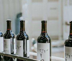 Our annual Cabernet-based blend with 10% Petite Sirah for added color, power and structure.