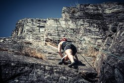 Climbing Experience by My Greenway Tours  A challenge only for people how love pure adventure. Traditional food and rock climbing with full security.