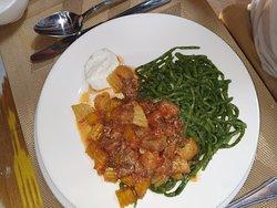 plato típico de Jiva solo