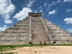 Chichen Itza was so majestic! El Castillo (The Castle) is a marvel that left us in awe!