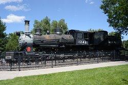 Union Pacific steam engine
