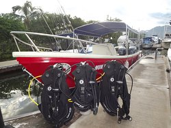 equipment and boat ready!!