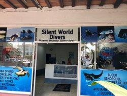 our dive center!!