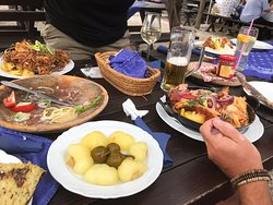 Traditional delicious food