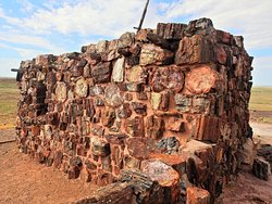 The Agate House in Petrified National Forest