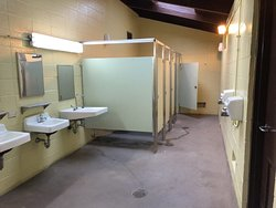 Clean Restrooms and Showers