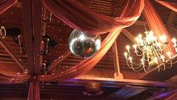 A bit 'Saturday Night Fever' dancing room decor...