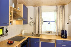 Küche Apartment Enzian