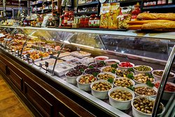 Feast Deli - gourmet selection of antipasto, mezzo, breads, hams to choose from