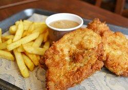 Fried Chicken and Gravy