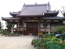 The Main Hall of Kaigan-ji Temple