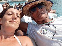 Un grande capitano..imbarcazione Vittorio..Peschici 2019