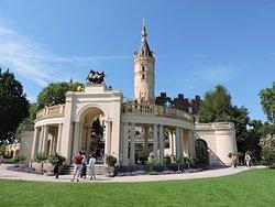 Schwerin Castle (Schweriner Schloss), Schwerin, Alemania.