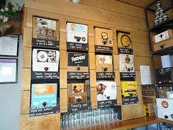 Cider Choices are abundant