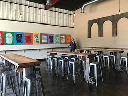 Seating in the tap room