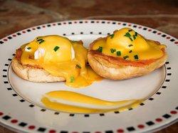 Royale eggs for breakfast