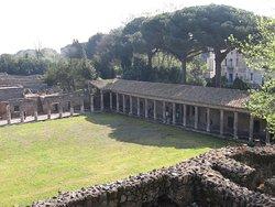 Archeologické naleziště v Pompejích