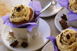 Homemade baked goods, desserts lunch & catered meals at Lagoon Cafe' next to MOSAIC Cottages.