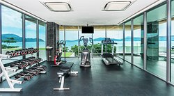 Gym with Panoramic Seaview