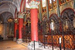 Eglise de Saint Germain des Prés , Abside et déambulatoire