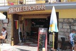 Beach Bar with restaurant service