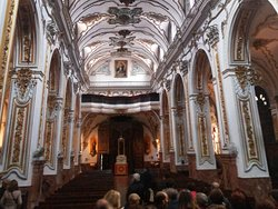 Iglesia de los Mártires, Málaga, una joya que hay que visitar. Su interior barroco sobrecoge.