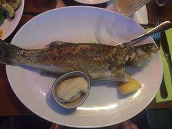 Fisch mit Selleriepüree