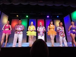 Babbacombe theatre - Starburst - went to see 3 times in a row and will continue, until I have to leave Torquay for a while.