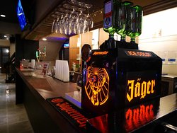 You can drink Jaeger Meister for free ♪