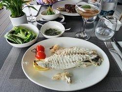 Absolut köstlicher Fisch.