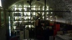 la cantina nella sala Grumello