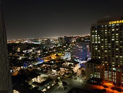 night views from room 2316