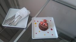 presente de aniversário do hotel