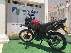 AKT TTR 200 EN SANTA MARTA
