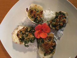 Oysters Rockefeller from our specials
