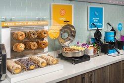 Tru by Hilton Mount Pleasant Complimentary Hot Breakfast Buffet