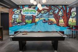 Tru by Hilton Mount Pleasant Lobby Pool Table