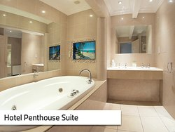 Hotel Penthouse Bathroom