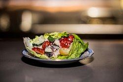 Typical Greek Salad.
