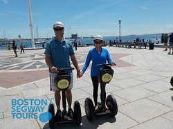 Riding your #cruise #ship into #BlackFalcon this fall? Whether it's #Norwegian, #HollandAmerica, or #RoyalCaribbean - find us near the #Aquarium to see so much, in so little time! 😃 #Boston #Segway #Tours www.bostonsegwaytours.net